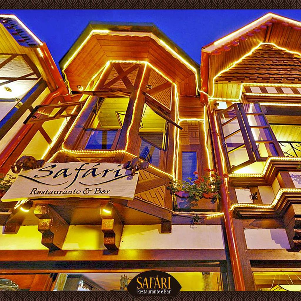 Fachada Restaurante Sáfari