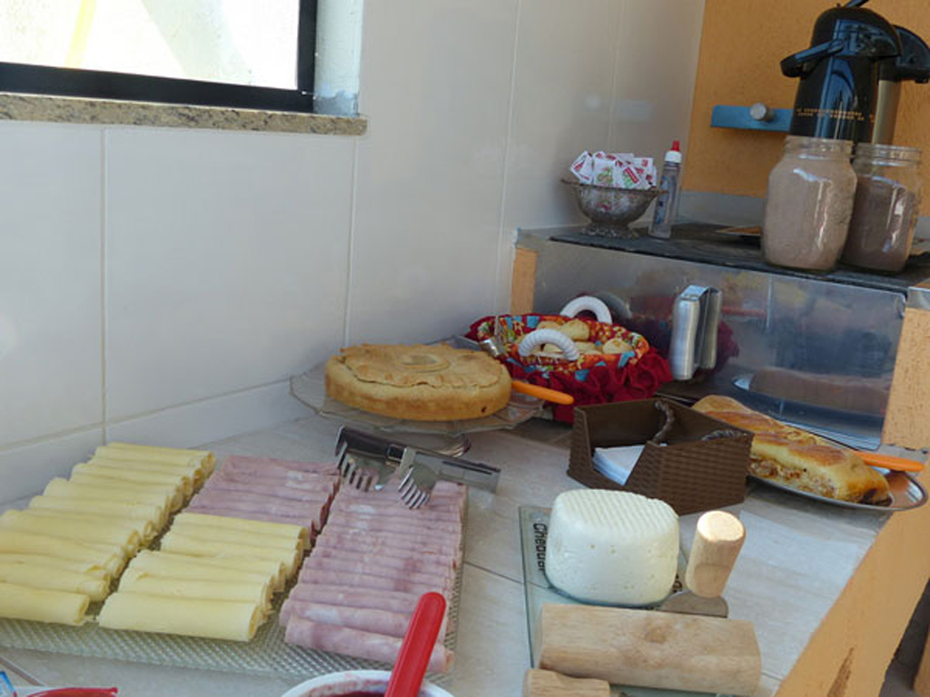Café da Manhã Pousada La Sierra