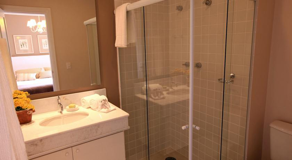 Banheiro Pousada Lá-Bas