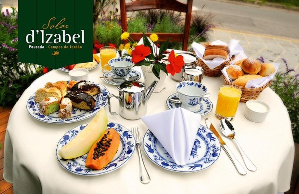 Café da Manhã Pousada Solar D'Izabel