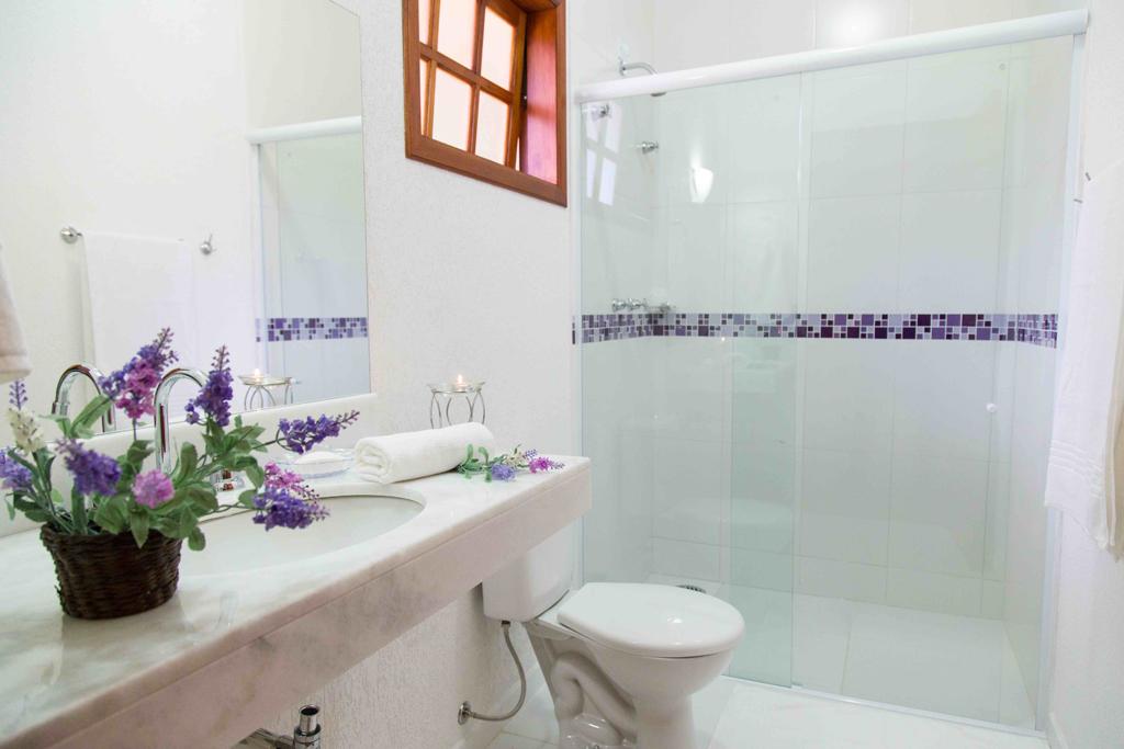 Banheiro Pousada Recanto Feliz