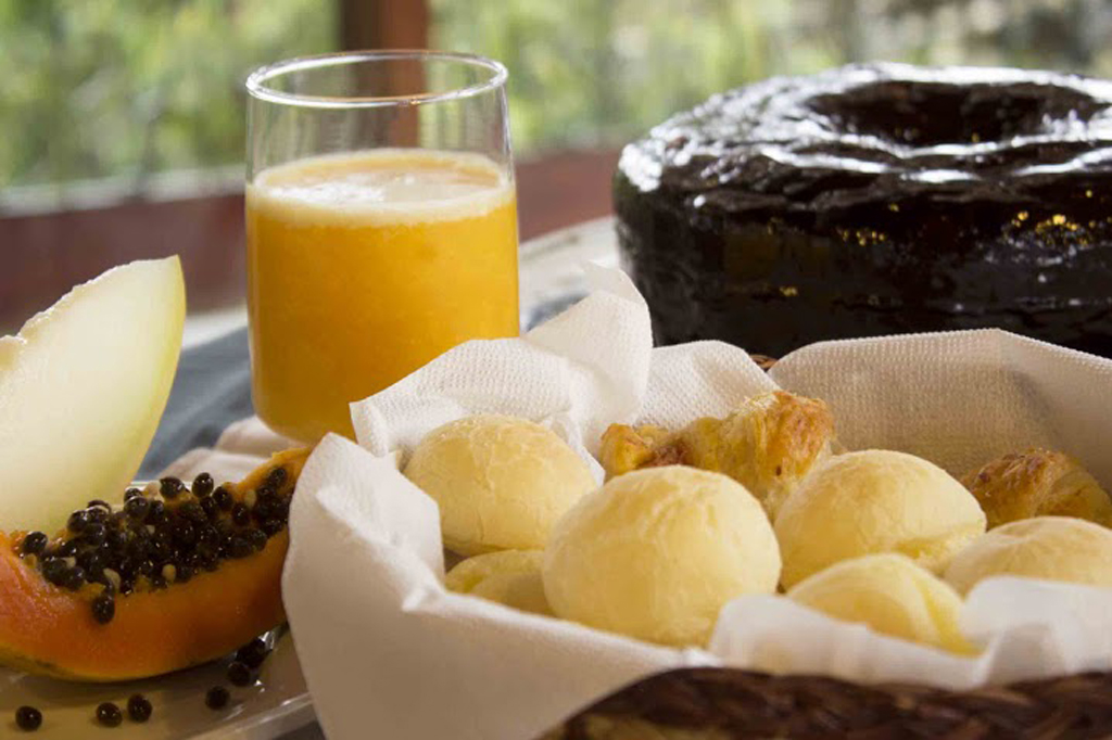 Café da Manhã Pousada dos Quatis