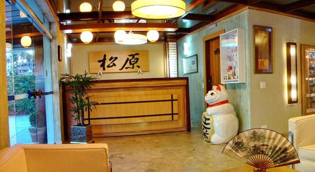 Recepção Hotel Matsubara