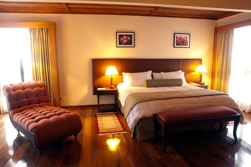 Acomodação Blue Mountain Hotel Spa Campos do Jordao