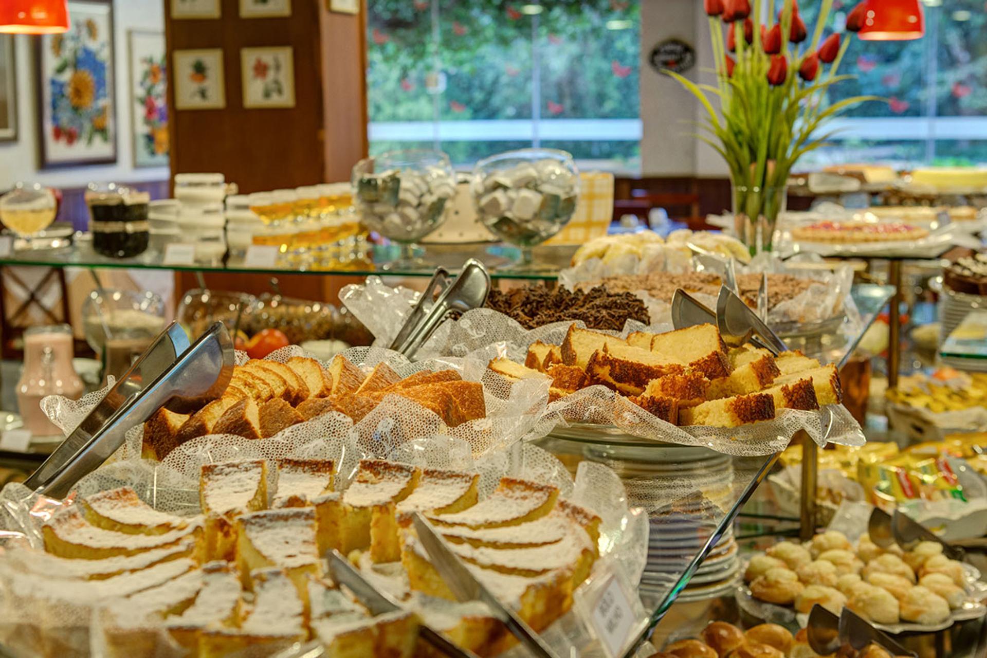 Café da Manhã do Flat Hotel Palazzo Reale