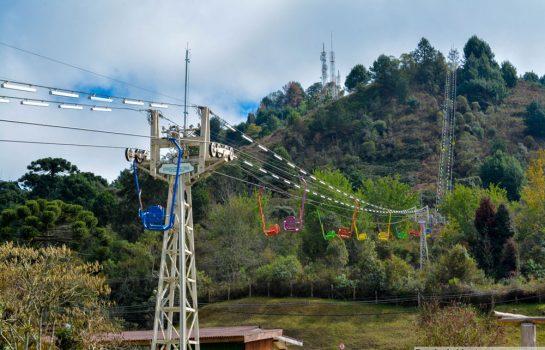 Teleférico em Campos do Jordão continua funcionando durante reforma do Parque Capivari