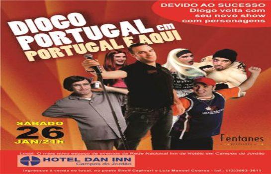 Diogo Portugal volta à serra com o espetáculo Portugal É Aqui!