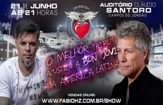 Corpus Christi terá show em Tributo ao Bon Jovi