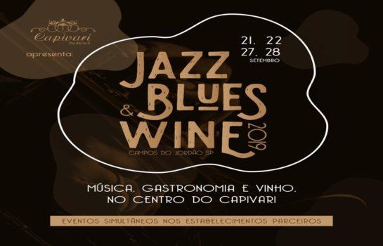 Jazz, Blues & Wine realiza apresentações musicais na Primavera em Campos do Jordão