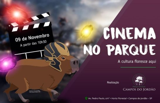 Cinema no Parque – Horto Florestal