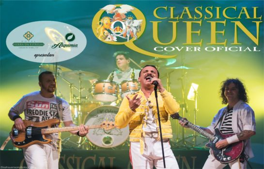 Banda Tributo ao Queen toca em Campos do Jordão no Último Domingo do Ano