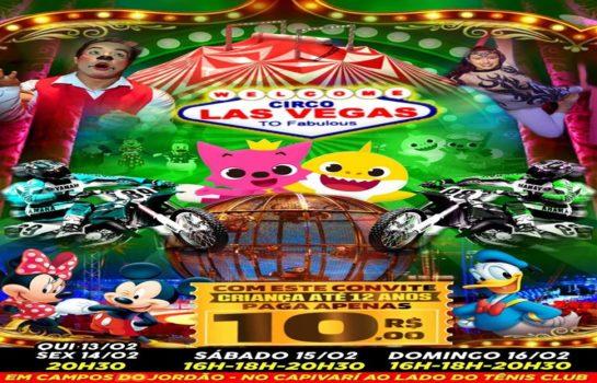 Circo Las Vegas 16/02/2020